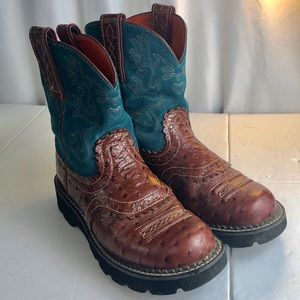 Ariat Shoes - Ariat Fat Baby Blue 6B Cowboy Boots